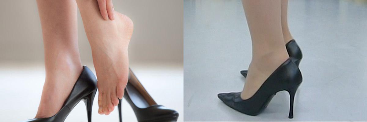 高いヒール靴を履いても足が痛くならない、女性の足を救うオーダーメイドインソール