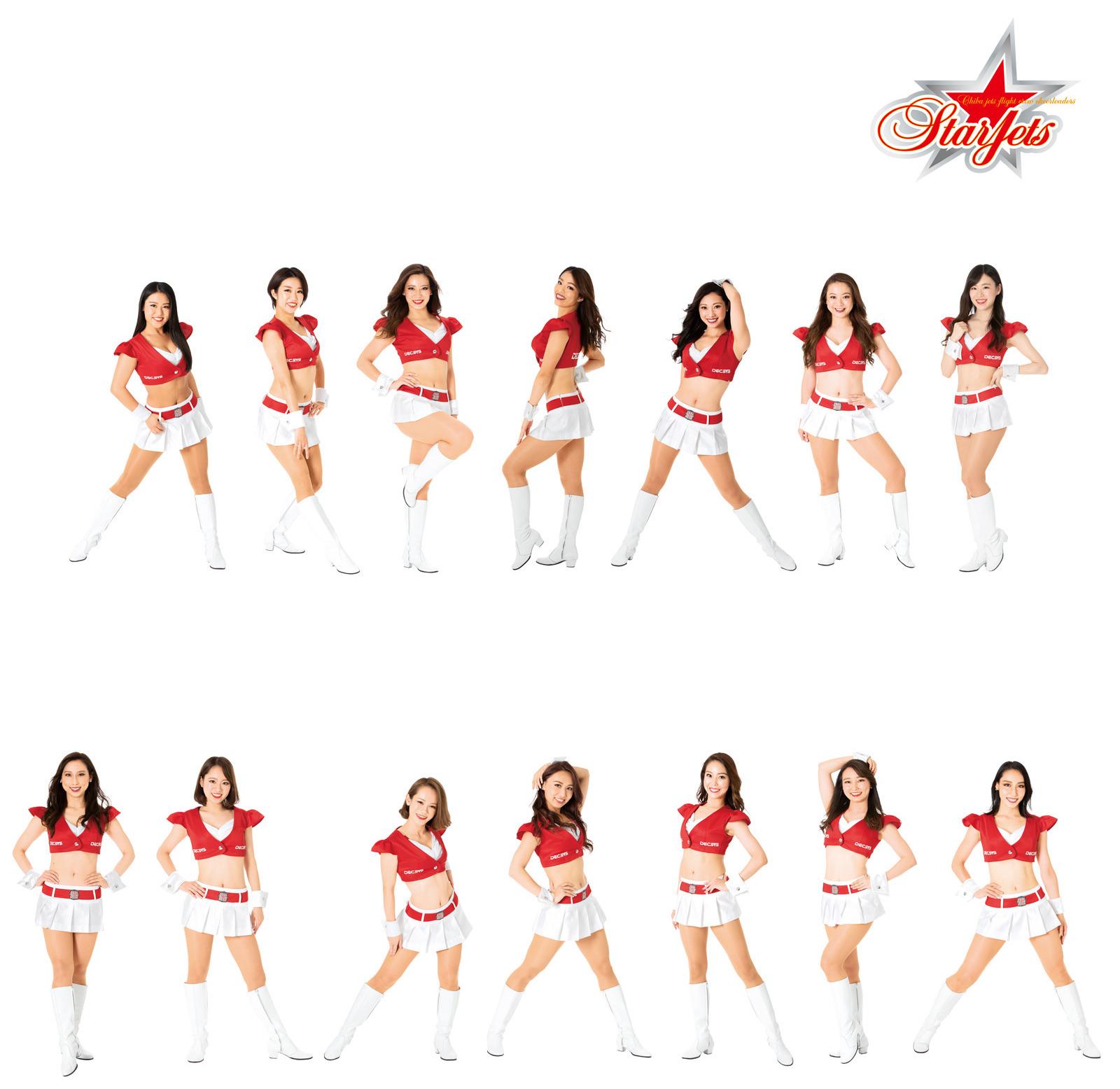 ヴィオレットソールはプロバスケットボールチーム千葉ジェッツふなばしフライトクルーチアリーダーズStar Jets(スタージェッツ)のオフィシャルインソールサプライヤーです